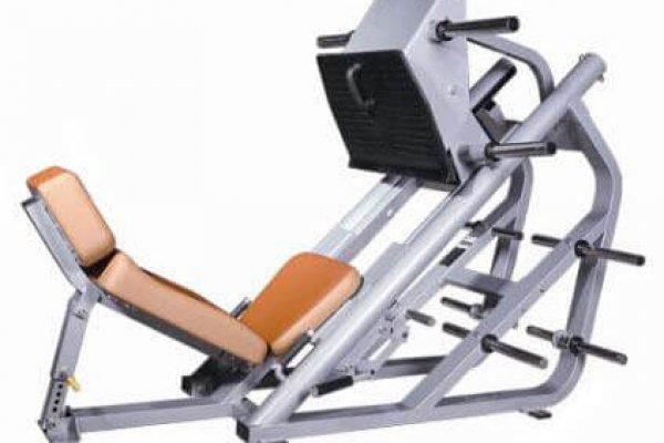 Nautilus-Body-Building-Equipment-45-Degree-Leg-Press-SW-2014-